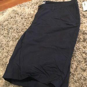 Old navy chino Bermuda shorts